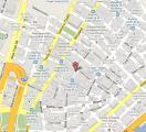 Уолл-стрит на карте Нью-Йорка