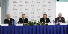Юрген Зауэр, Александр Шапран, Вячеслав Бурлаков