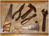 Шоколадные инструменты и ящик