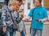 Акции на «Баррикадной» против рекламы наркотиков