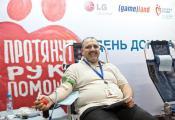 Первый совместный День донора LG Electronics и Компании Gameland