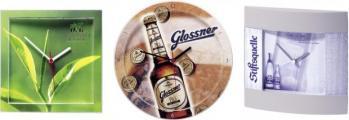 Настенные часы с Вашим логотипом от 1 штуки. сувенирная компания АлексГраф. www.presentline.ru