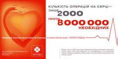 Бюро Маркетинговых Технологий визуализировало благотворительный проект компании «Еврокар» и Киевского городского Центра сердца