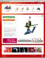 KINETICA представляет фирменный стиль и сайт школы танцев Chili