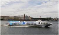Реклама на водном транспорте отмечает 15-летний юбилей