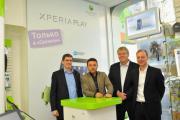 Президент компании Sony Ericsson Берт Нордберг посетил Россию  с официальным визитом