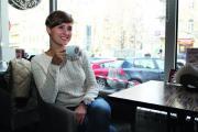 ЖЕНСКИЙ ЖУРНАЛ подвешивает кофе в Киеве