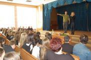 Тамерлан и Алена Омаргалиева снова посетили киевскую школу