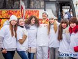 Коллектив MAER GROUP принял участие в эстафете Олимпийского огня на Дальнем Востоке!