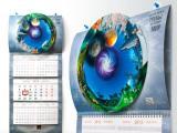 Креативный календарь для ТМК от студии EPS Creative