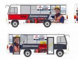 Автобусы ПТК и «Планета инструмент» проводят совместную рекламную кампанию