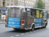 3D реклама на автобусах для ЖК «Университетский Петергоф»