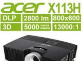 Новый проектор Acer X113H до 15000 рублей c HDMI 1.4 входом и универсальной 3D совместимостью